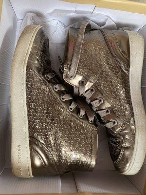 Michael Kors Zapatillas altas color bronce