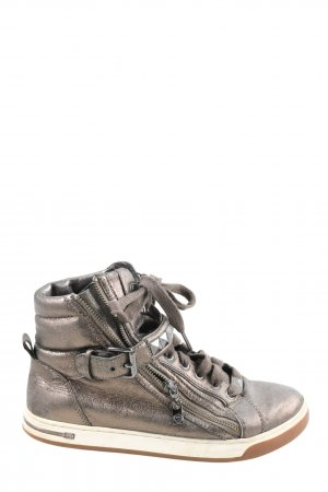 Michael Kors High Top Sneaker bronzefarben extravaganter Stil