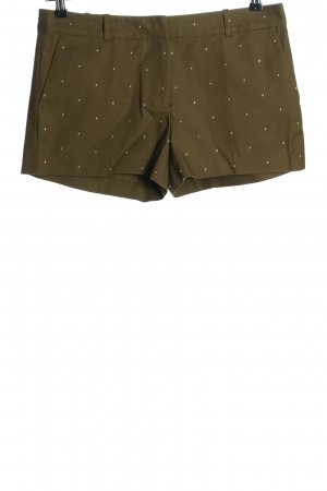 Michael Kors High-Waist-Shorts khaki Allover-Druck Casual-Look