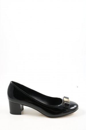 Michael Kors Hochfront-Pumps schwarz Casual-Look