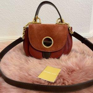 Michael Kors Isadore Medium Suede Messenger Bag