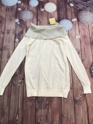 Michael Kors Ivory Cowl Neck Sweater