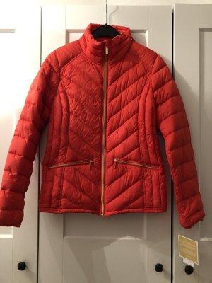 Michael Kors Pikowana kurtka pomarańczowy-złoto