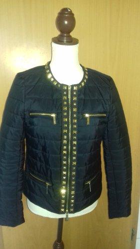 Michael Kors Krótka kurtka czarny-złoto