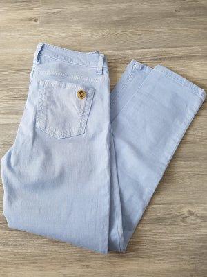 MICHAEL KORS Jeans, Izzy cropped skinny, destroyed, Gr.36, hellblau
