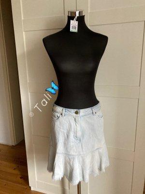 Michael Kors Jeans Rock  Blau Weiss  M 38 8