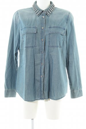 Michael Kors Denim Shirt turquoise casual look