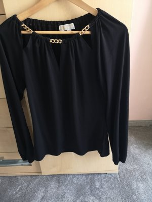 Michael Kors Long Sleeve Blouse black