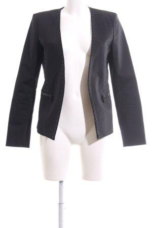 Michael Kors Jerseyblazer schwarz Business-Look