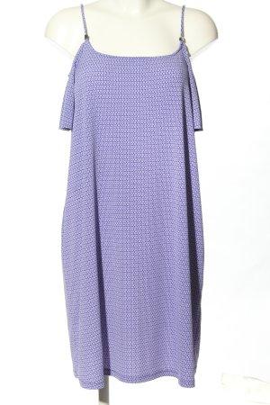 Michael Kors Robe en jersey violet-blanc imprimé allover style décontracté