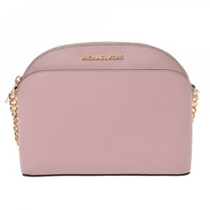 Michael Kors Shoulder Bag pink leather