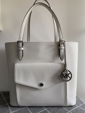 Michael Kors Comprador blanco-color plata