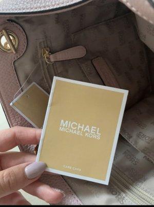Michael Kors Torebka podręczna w kolorze różowego złota-różany