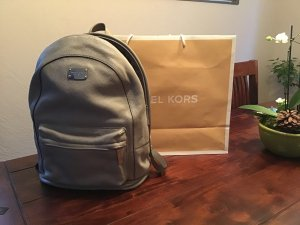 Michael Kors Backpack Trolley silver-colored leather
