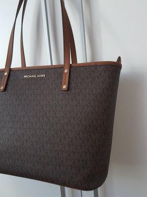 Michael Kors Jet Set Shopper Tasche Handtasche braun NEU Original