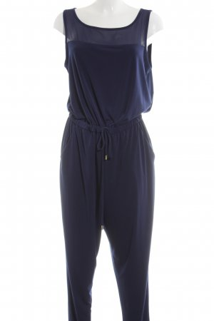 Michael Kors Jumpsuit blau Business-Look