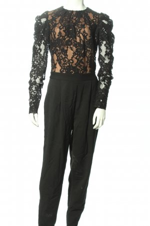 Michael Kors Jumpsuit creme-schwarz Elegant