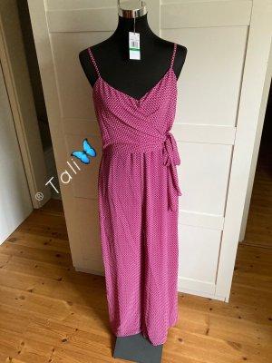 Michael Kors Jumpsuit Overall  Pink Rosa Bordeaux  L 40 10