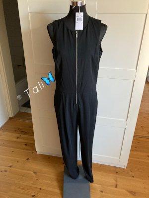 Michael Kors Jumpsuit Overall  Schwarz Silber  M 38 8