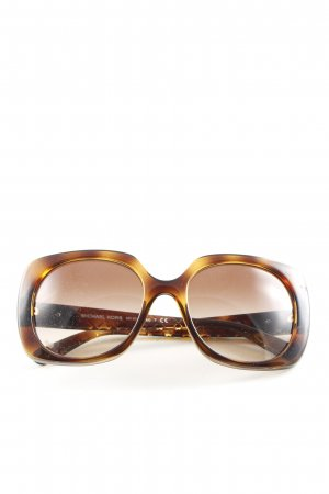 Michael Kors Square Glasses brown-primrose color gradient casual look