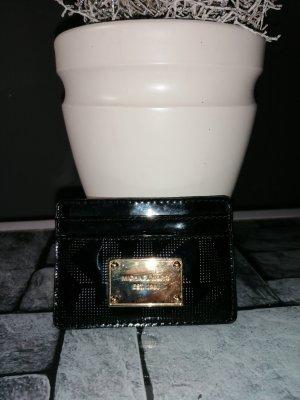 Michael Kors Custodie portacarte nero-oro