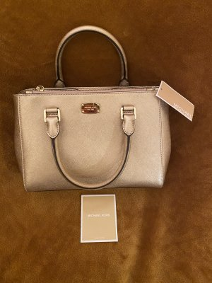 Michael Kors Kellen XS Satchel Leder Rose Gold