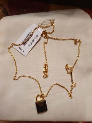Michael Kors Gold Chain black-gold-colored