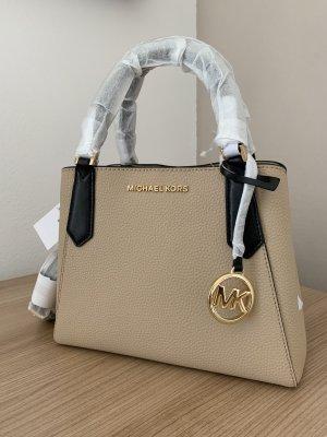 Michael Kors Kimberly Tasche NEU Beige Leder crossbody Handtasche