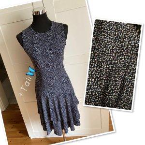 Michael Kors Kleid  Blau Flieder Floral  M 38 8