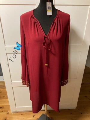 Michael Kors Kleid  Bordeaux Rot Gold  M 38 8