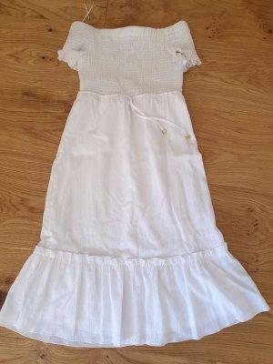 Michael Kors Kleid Damen Weiß Sommerkleid Strandkleid XS 34 Sommer