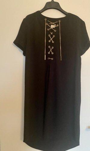 Michael Kors Robe courte noir-doré