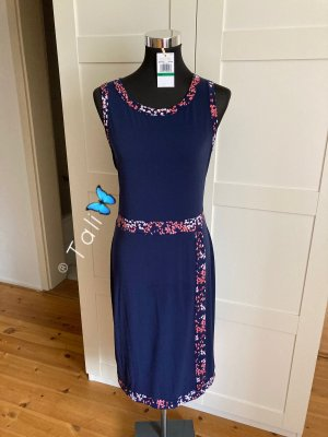 Michael Kors Kleid Floral  Navy Blau Rosa  L 40 10