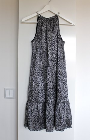 Michael Kors Kleid Metallic Siber neu Gr. XS