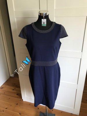 Michael Kors Kleid  Navy Blau Gold  L 40 10