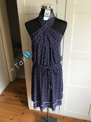Michael Kors Robe dos-nu multicolore polyester