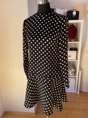 Michael Kors Kleid NEU Volant mit Punkten schwarz weiß