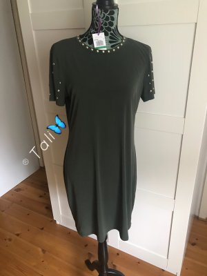 Michael Kors Kleid  Olive Khaki Ivy Gold  L 40 10
