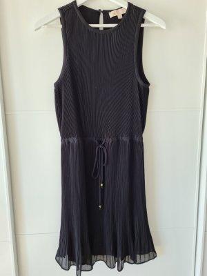 MICHAEL KORS Kleid, plissiert, schwarz/gold, Gr. 2