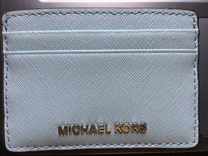 Michael Kors Porte-cartes bleu azur