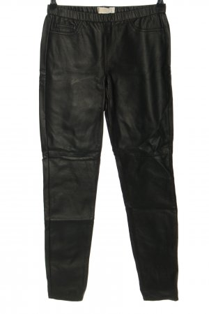 Michael Kors Faux Leather Trousers black casual look