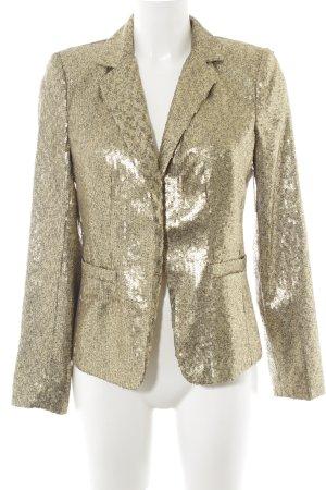 Michael Kors Kurz-Blazer goldfarben 70ies-Stil