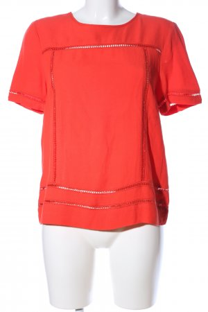Michael Kors Kurzarm-Bluse rot Business-Look