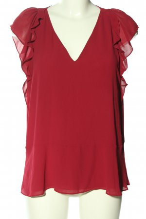 Michael Kors Kurzarm-Bluse rot Casual-Look