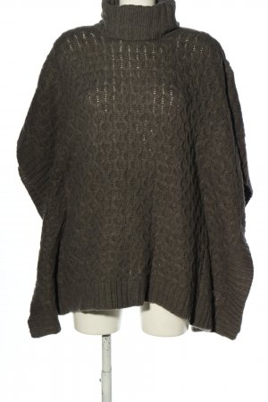 Michael Kors Knitted Poncho light grey casual look
