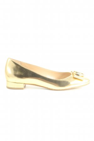 "Michael Kors Patent Leather Ballerinas ""Marsha"" gold-colored"