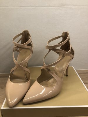 "Michael Kors, Lackleder Pump ""Catia"", Gr. 9.5, blush"