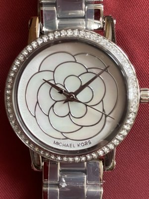 Michael Kors Ladies Norie Silver Watch  *new*