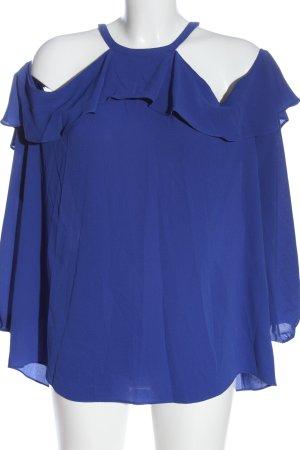 Michael Kors Langarm-Bluse blau Elegant