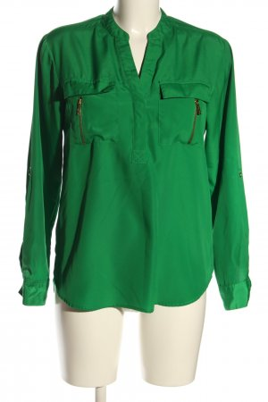 Michael Kors Langarm-Bluse grün Casual-Look